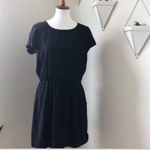Silk Madewell dress with pockets *reposh*